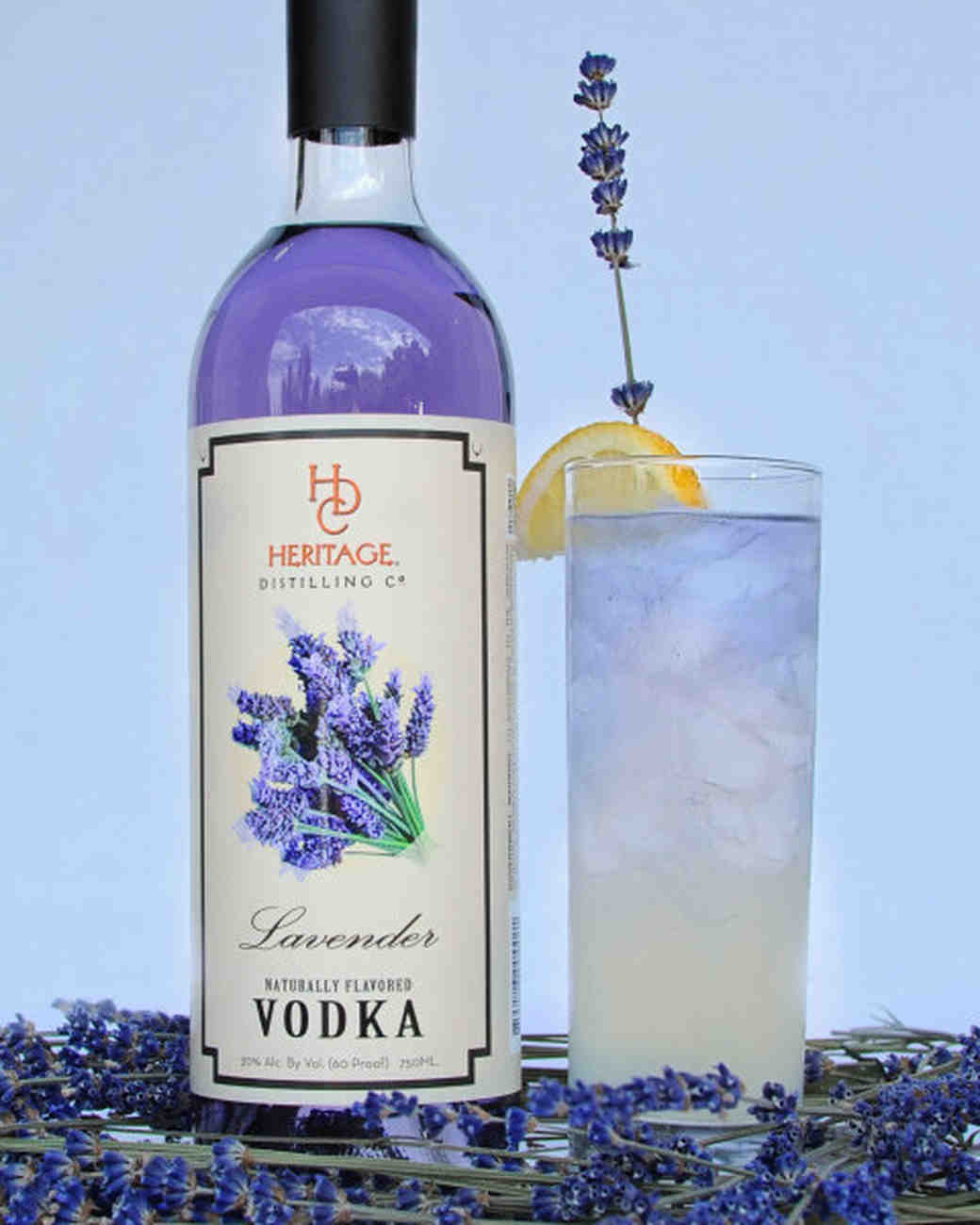 heritage distilling company lavender vodka