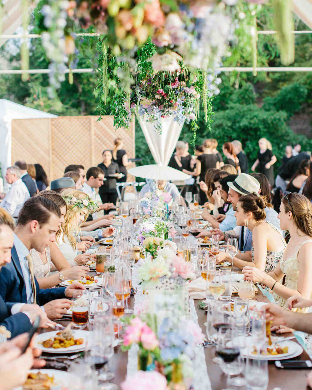 15 Outdoor Wedding Ideas That Are Totally Genius: An Eclectic, Outdoor Wedding In The Escondido Mountains