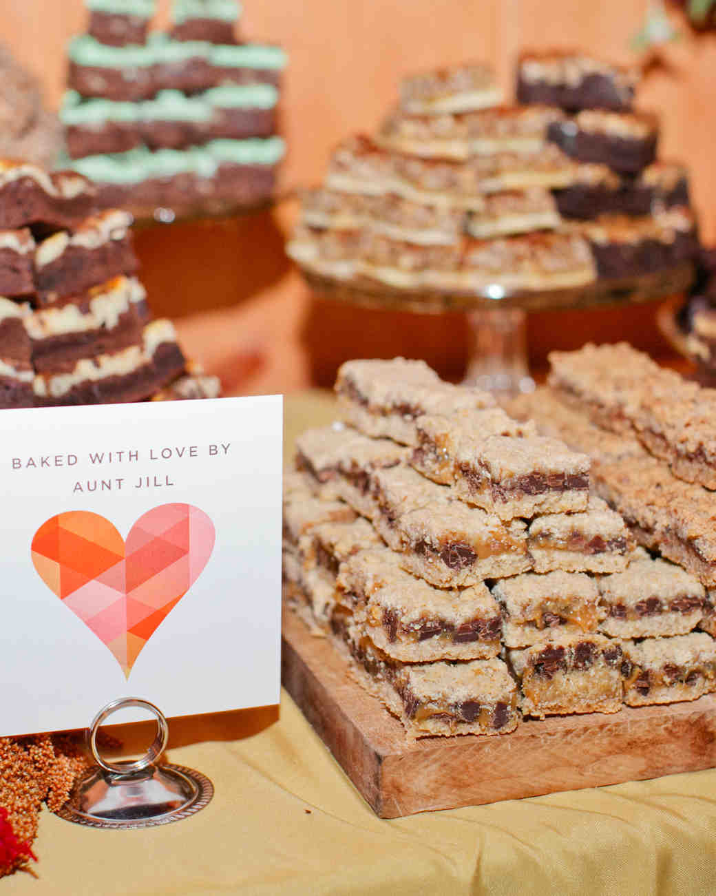 Wedding Blondies and Brownies