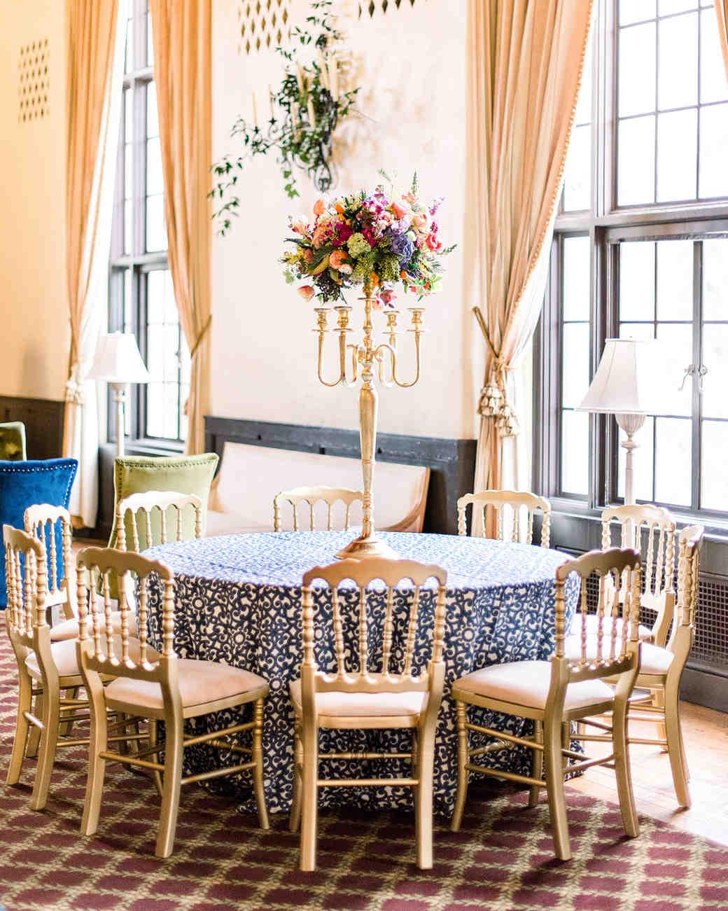 johanna erik wedding reception tables