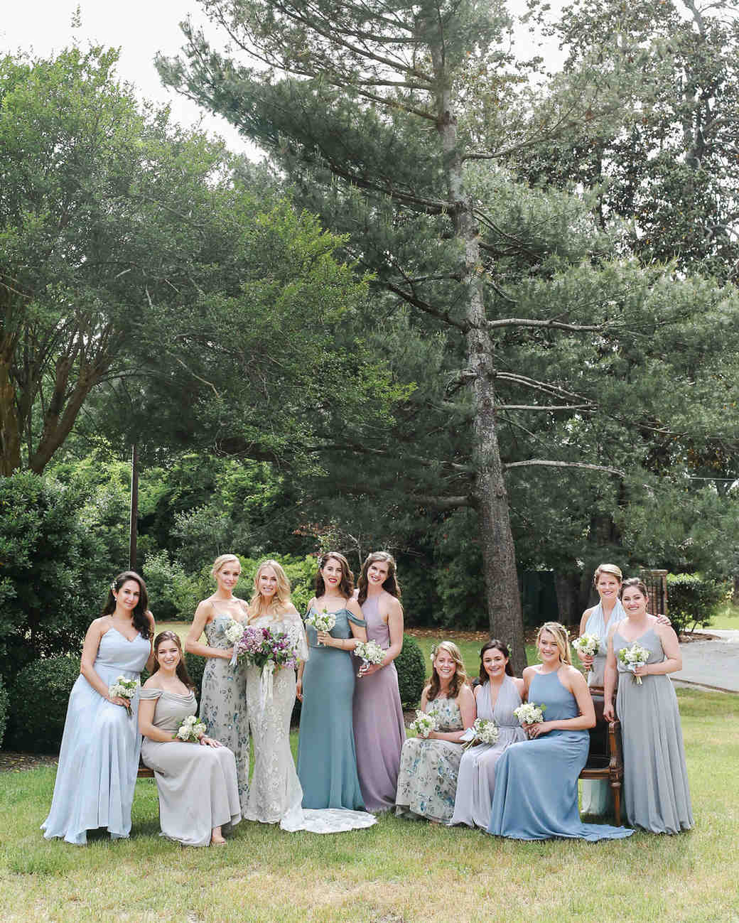 julia mitchell wedding bridesmaids