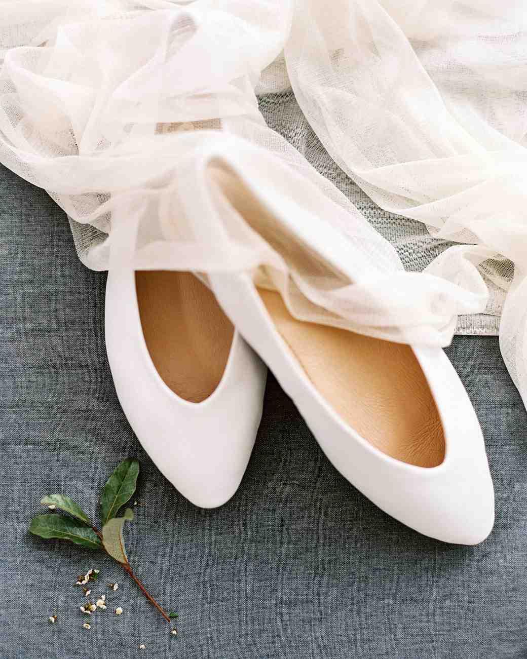 linda robert wedding shoes