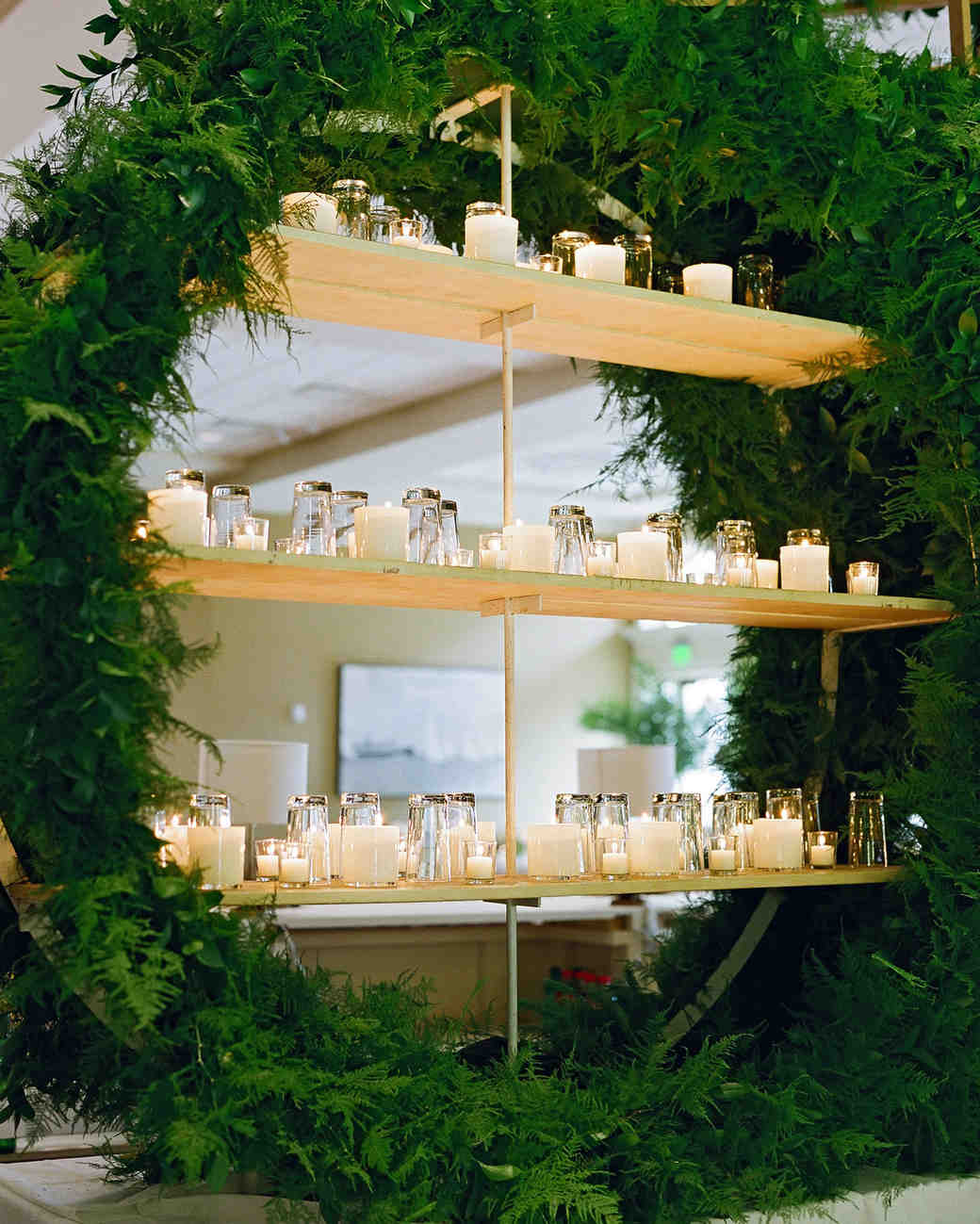 lindsay evan wedding bar shelves