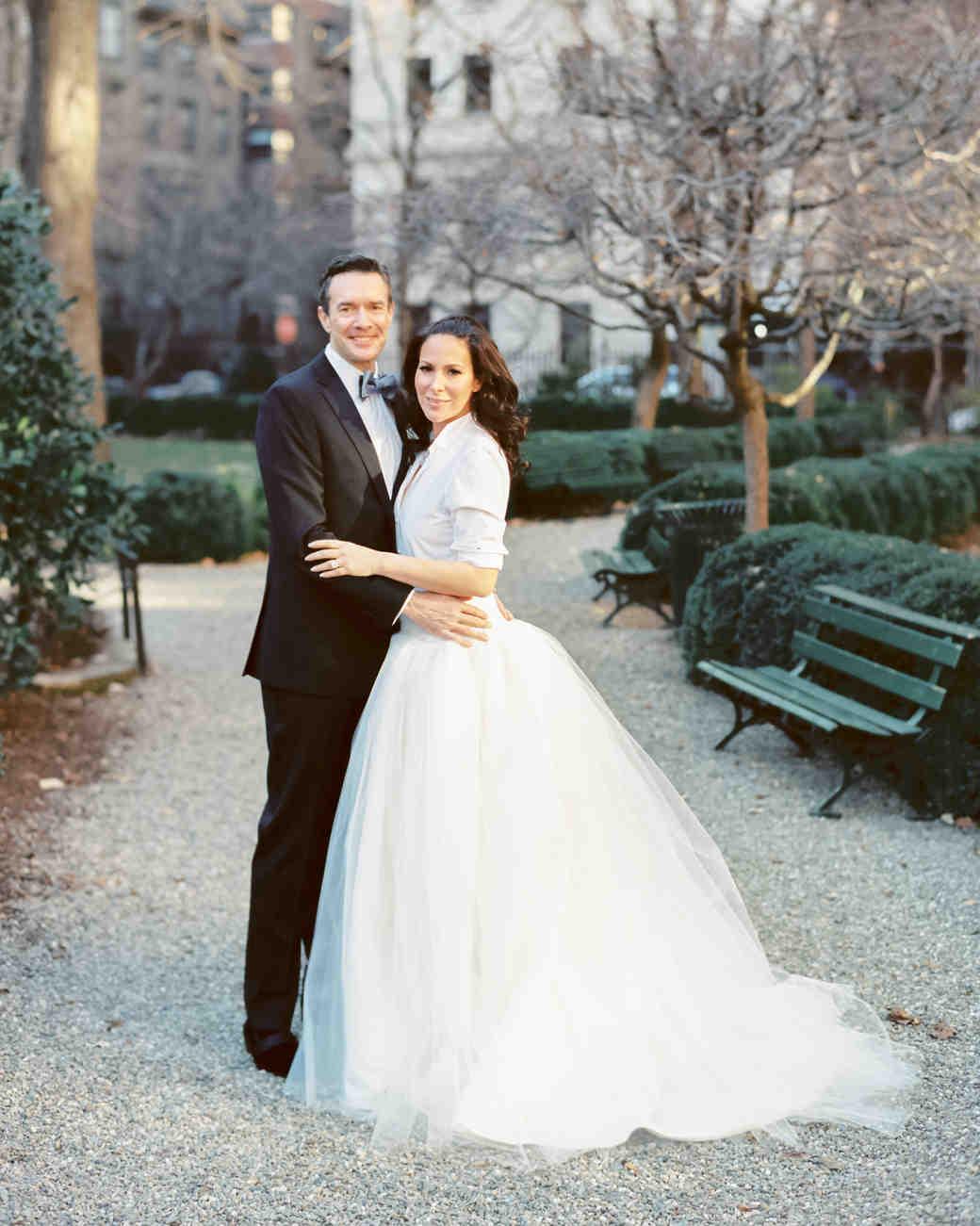 A New Year\'s Day New York City Wedding | Martha Stewart Weddings