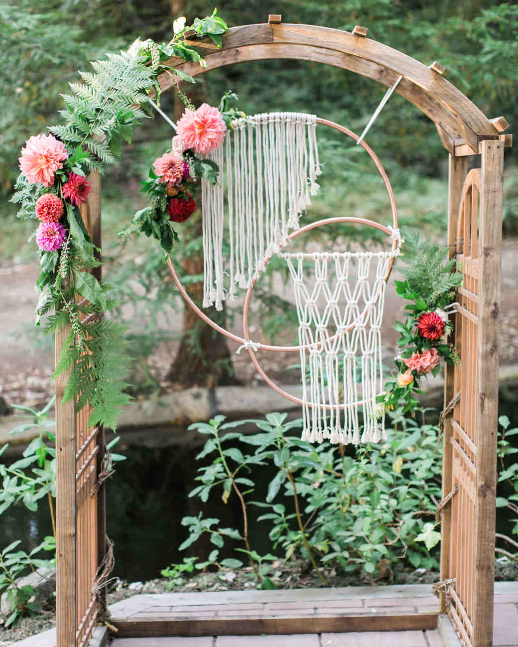 macrame wedding decor olivia richards