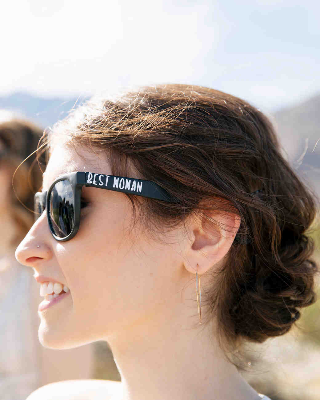 michael thomas wedding best woman sunglasses