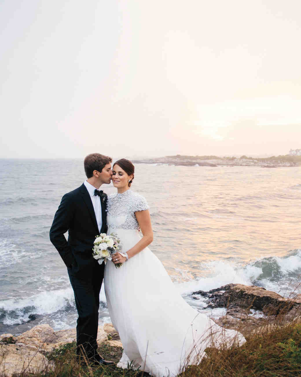 Olivia and Tyler\'s Black-Tie Wedding in Their Family\'s Seaside Home ...