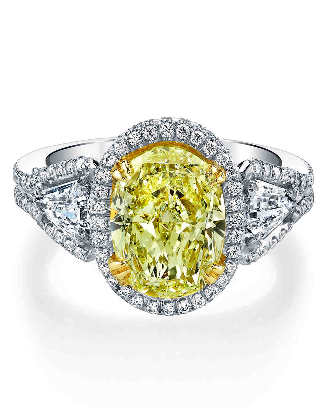 Harry Kotlar Oval Engagement Ring