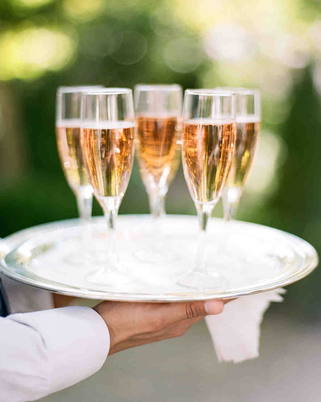 rose gold wedding ideas rose champagne