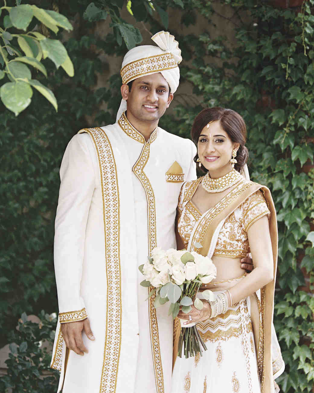 Sejal and Narayana\'s Understated Indian Wedding | Martha Stewart ...
