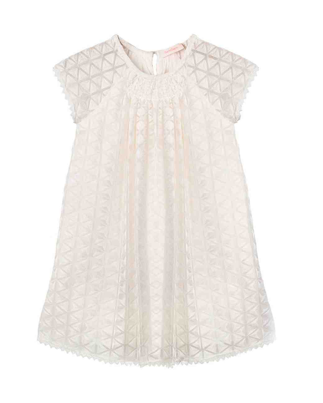 "Short Sleeve Flower Girl Dress, SemSem ""Norah"" Dress"