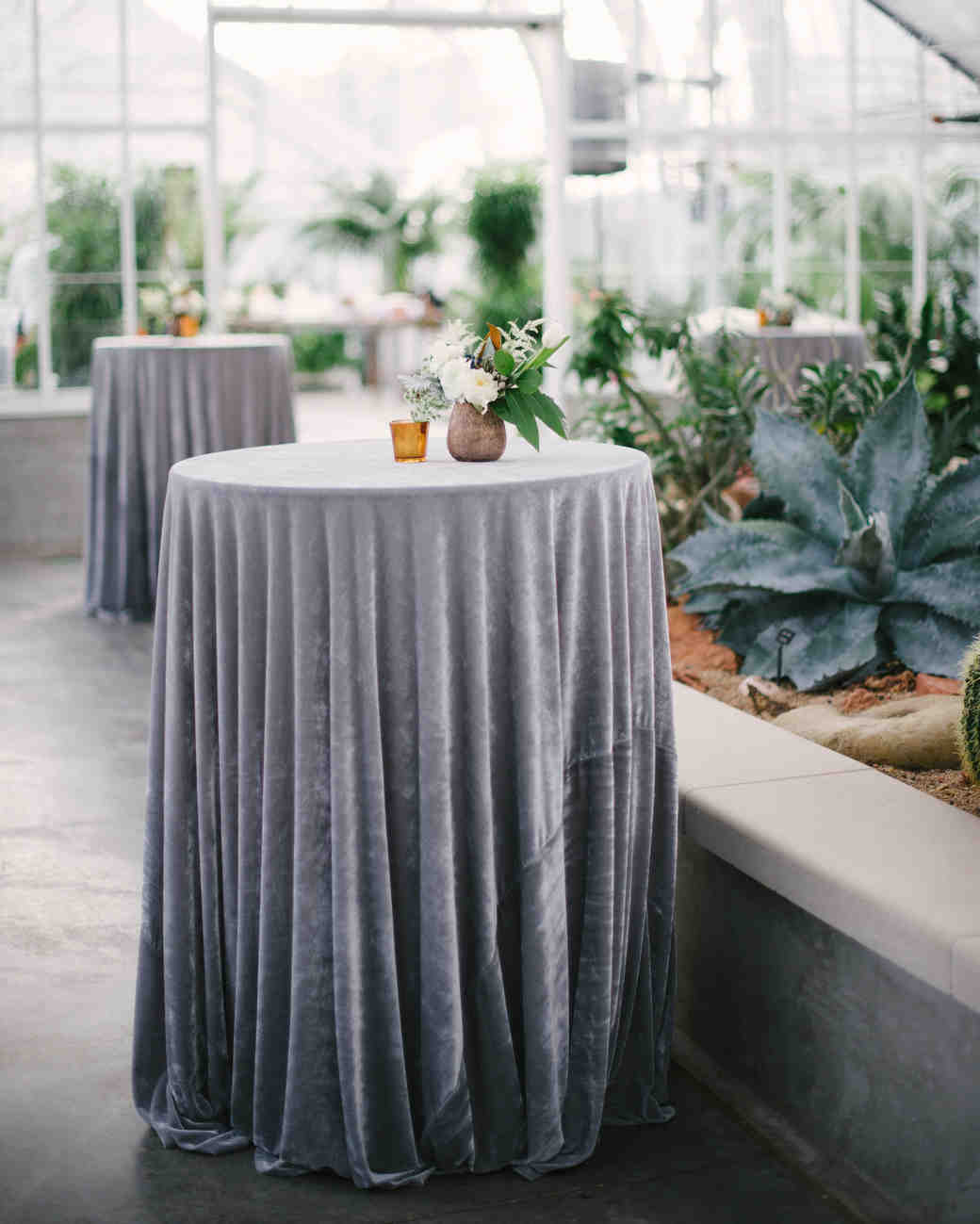 Silver Wedding Tablecloths