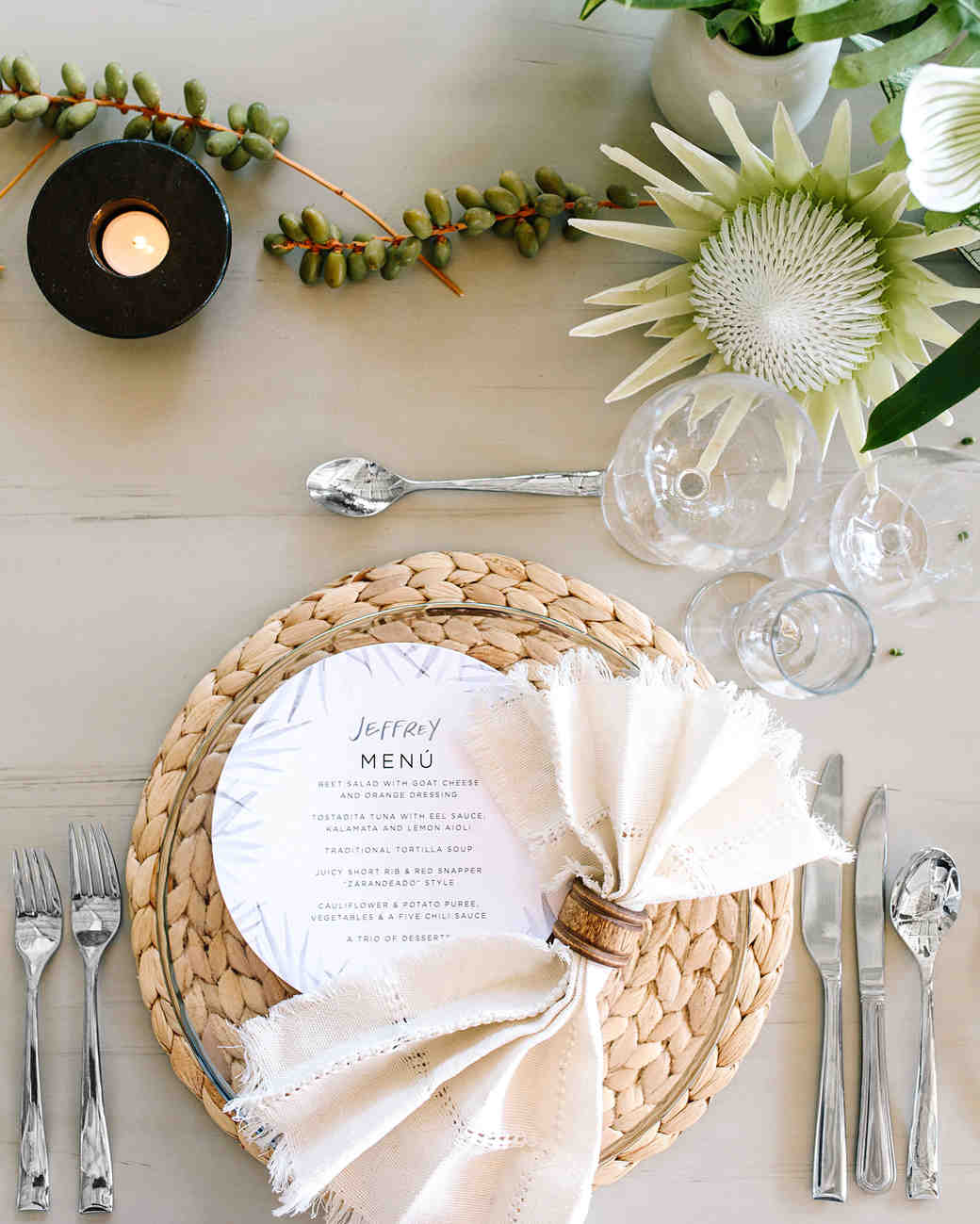 A Modern, Organic Destination Wedding in Punta Mita, Mexico | Martha ...