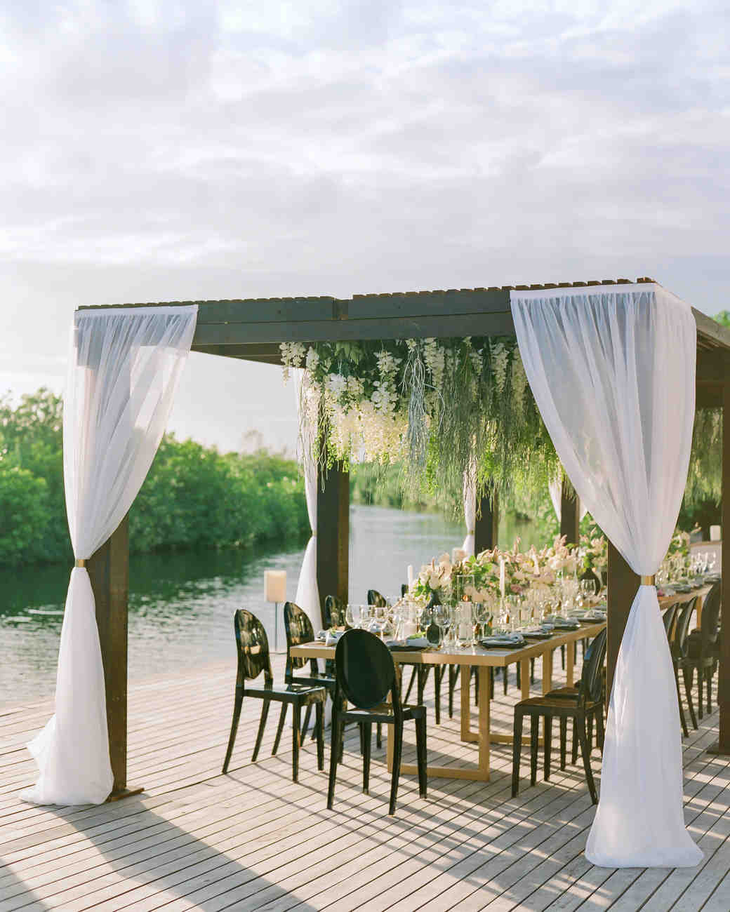 vicky james mexico table waterfront
