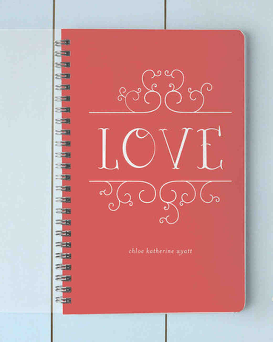 14 wedding vow booklets we love martha stewart weddings arubaitofo Image collections