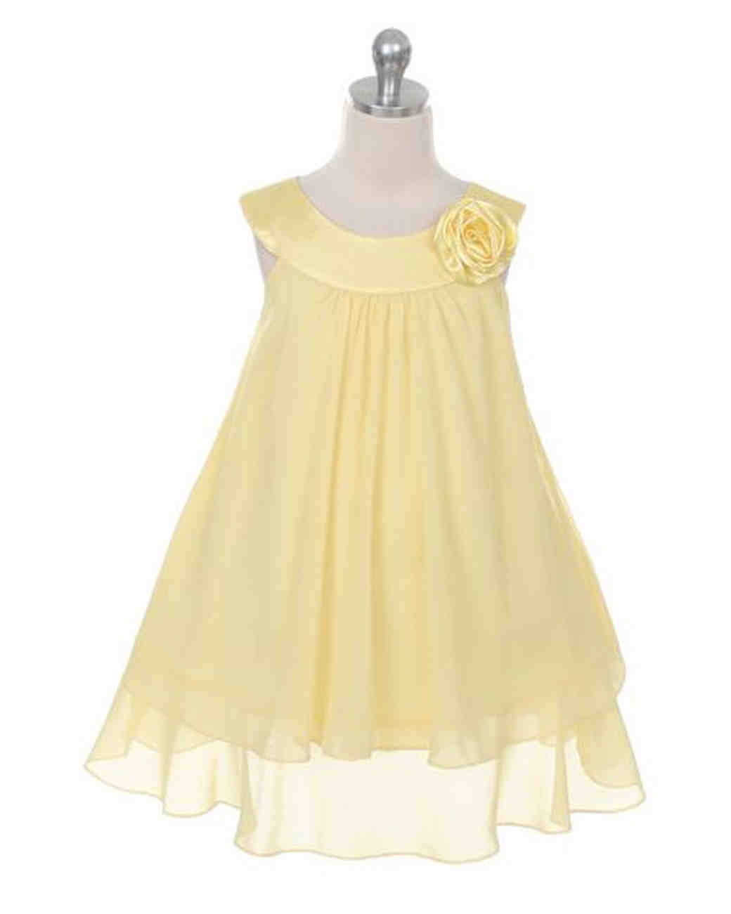 b8faa73125 24 Yellow Flower Girl Dresses That Are Perfect for Any Season ...