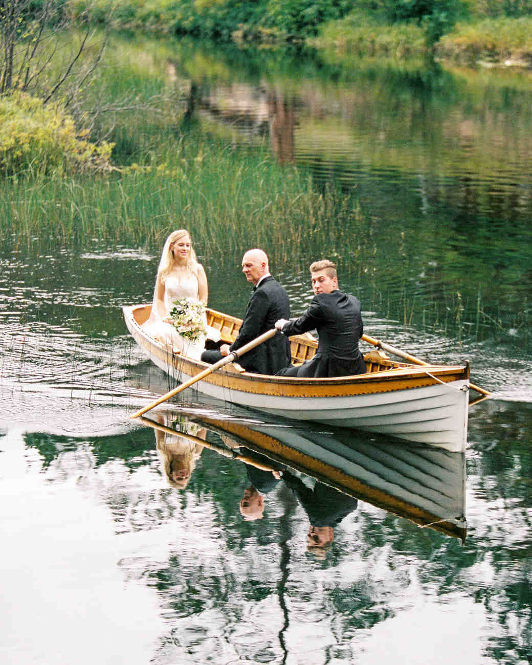 adele seth wedding michigan canoe