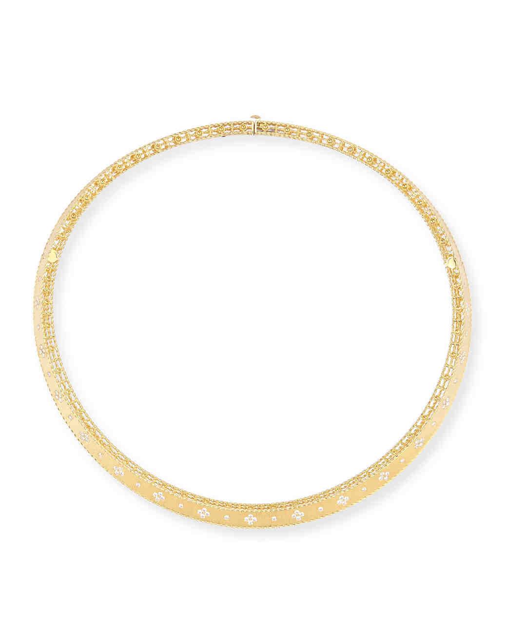 Princess 18-Karat Diamond Collar Necklace