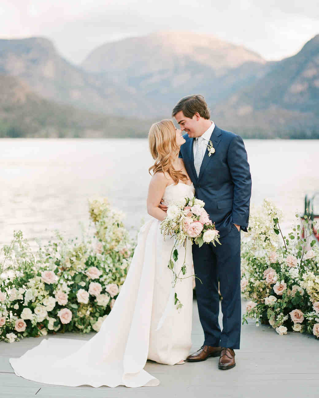 Wedding styles martha stewart weddings an elegant colorado wedding with nautical details junglespirit Image collections