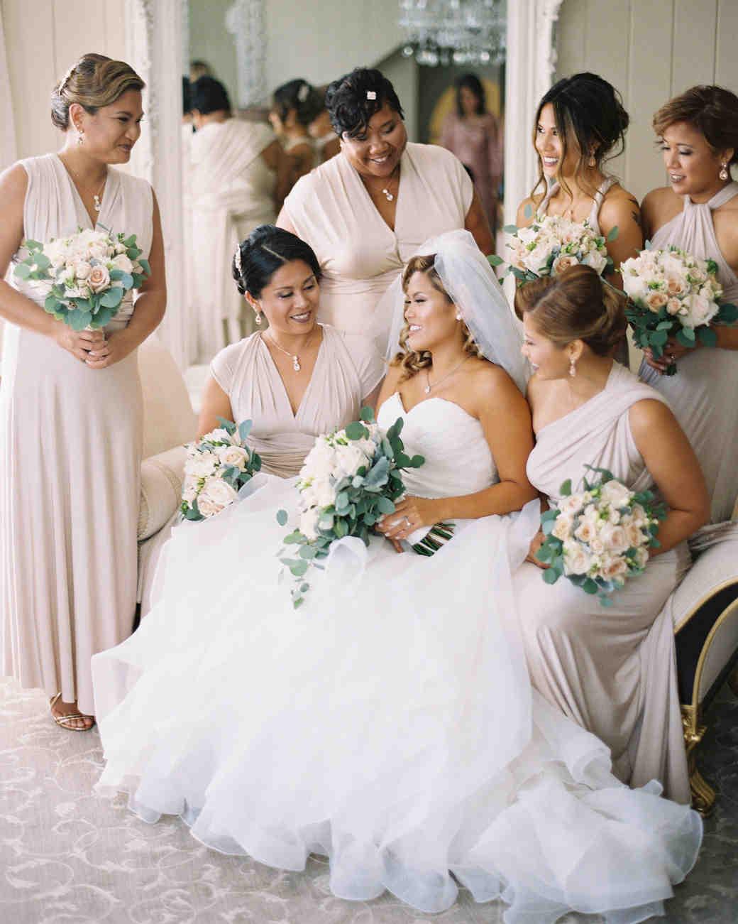 best dressed bridesmaids carina bethea