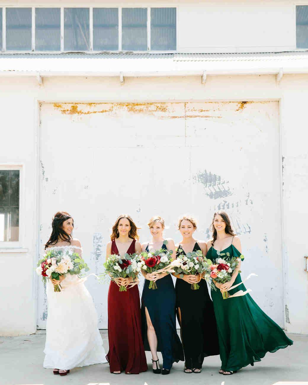 best dressed bridesmaids jenn emerling
