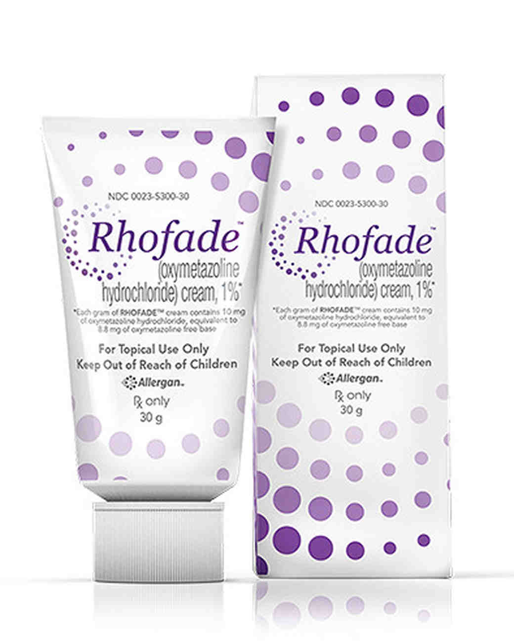 beauty product rhofade cream