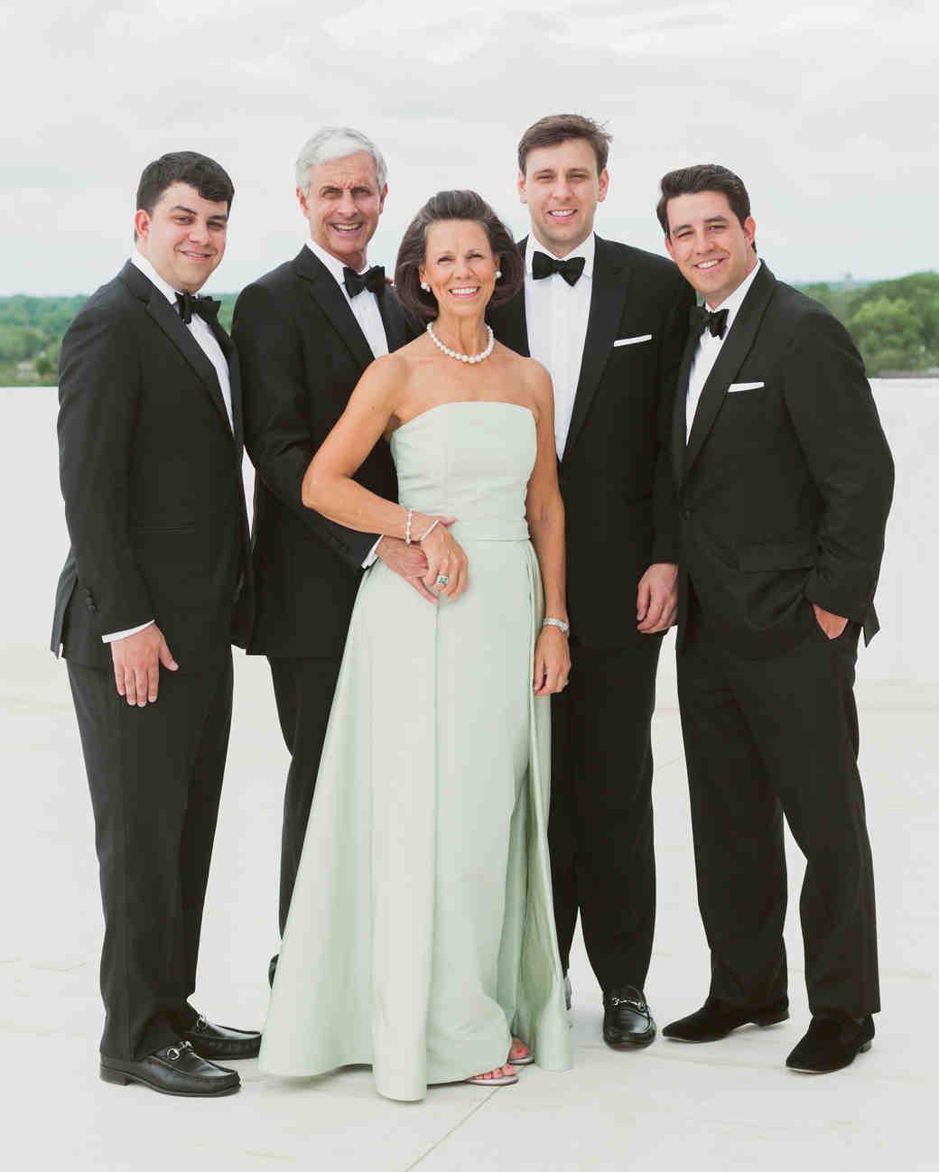 Brooke and David's wedding - Family