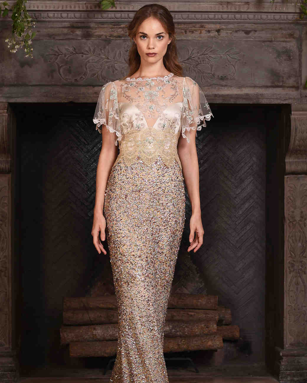 Claire pettibone fall 2017 wedding dress collection for Where to buy claire pettibone wedding dress