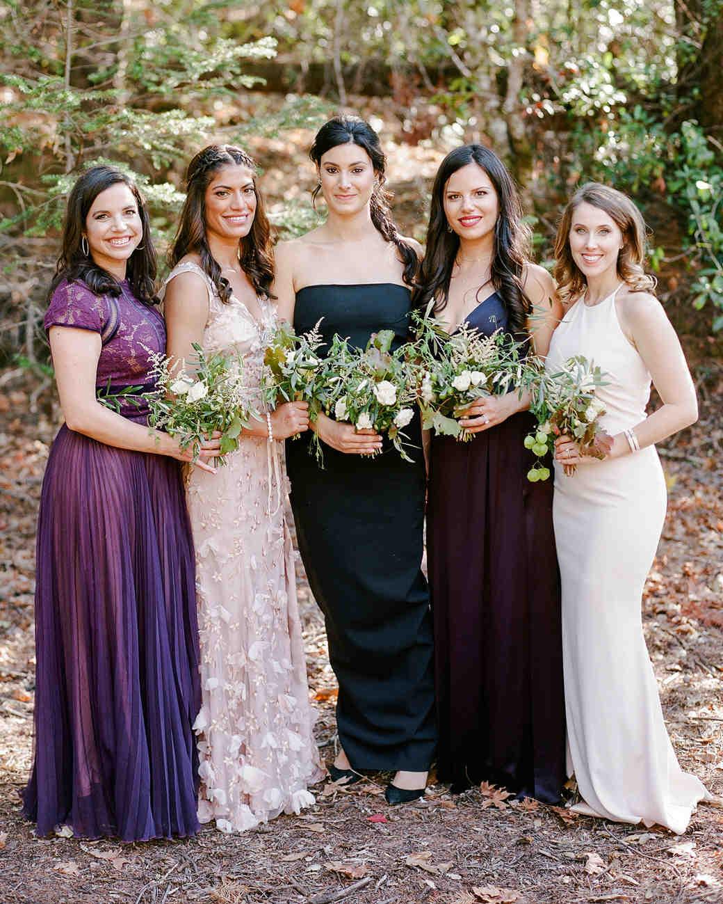 cristina chris wedding bridesmaids