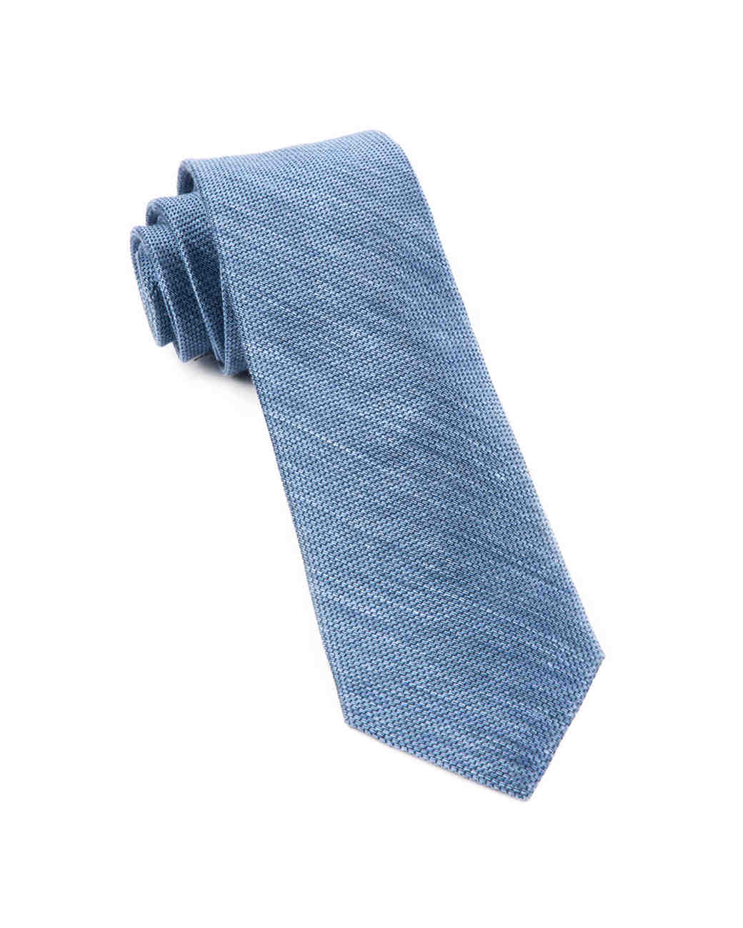 The Tie Bar x Destination Hotels Capsule Blue Chambray Tie