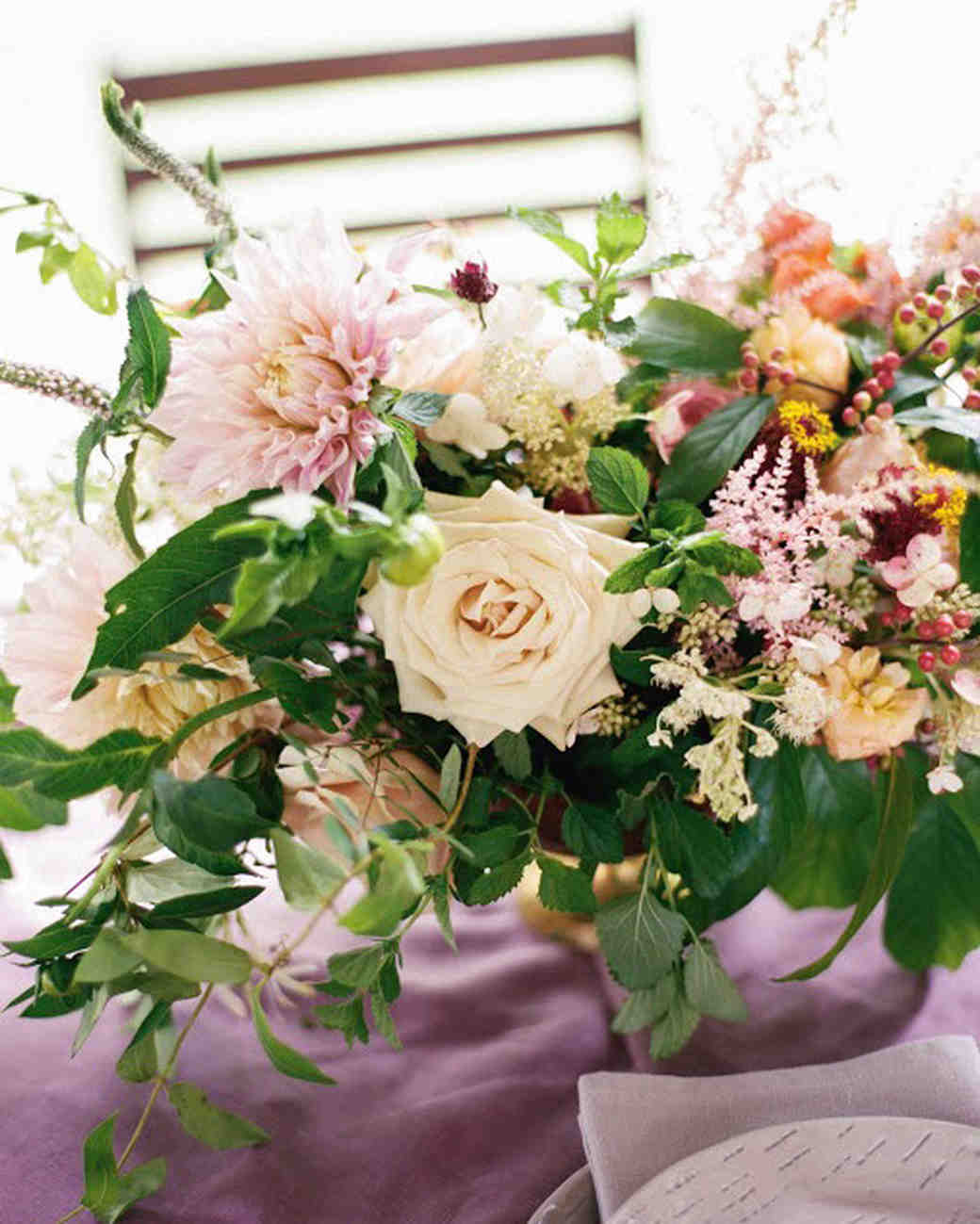 20 Pretty Dahlia Wedding Centerpieces Martha Stewart Weddings