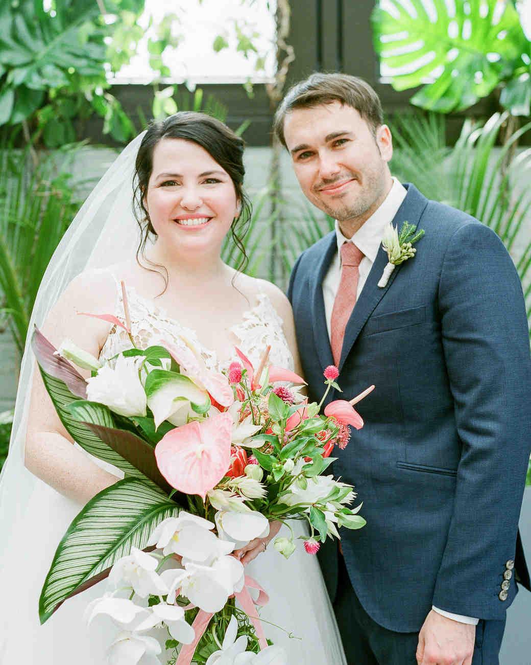 wedding couple bride groom