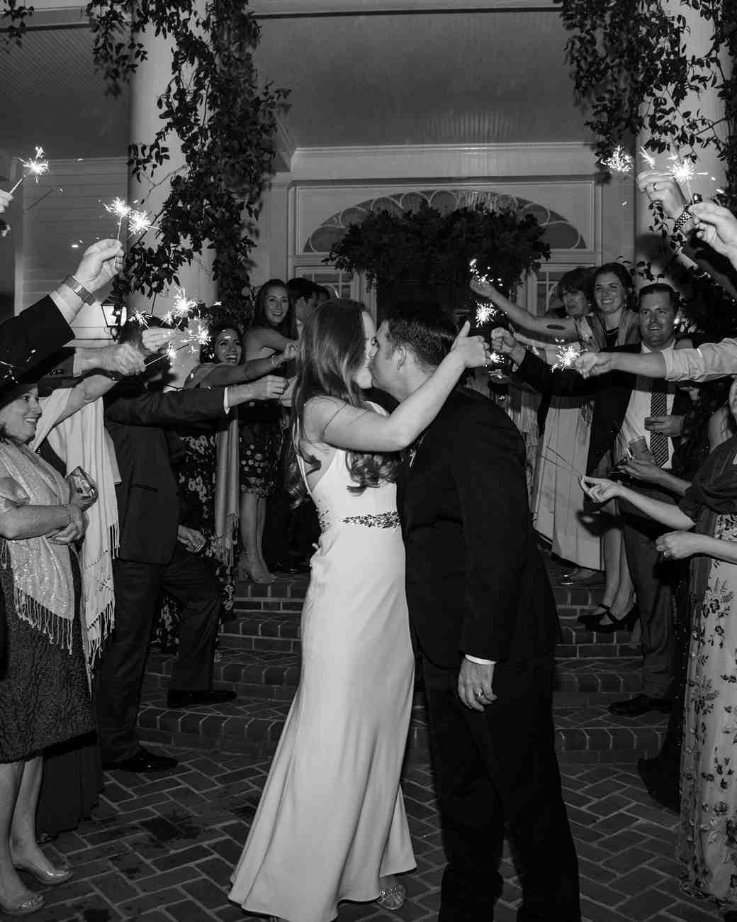 jen geoff wedding sendoff