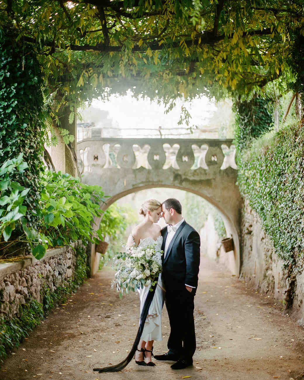 Destination weddings martha stewart weddings a chic intimate destination wedding on the amalfi coast junglespirit Images