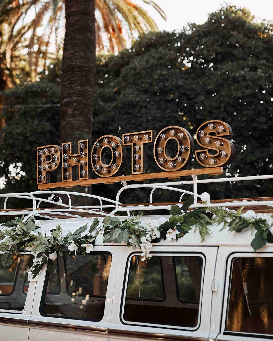 karolina sorab wedding photo booth van