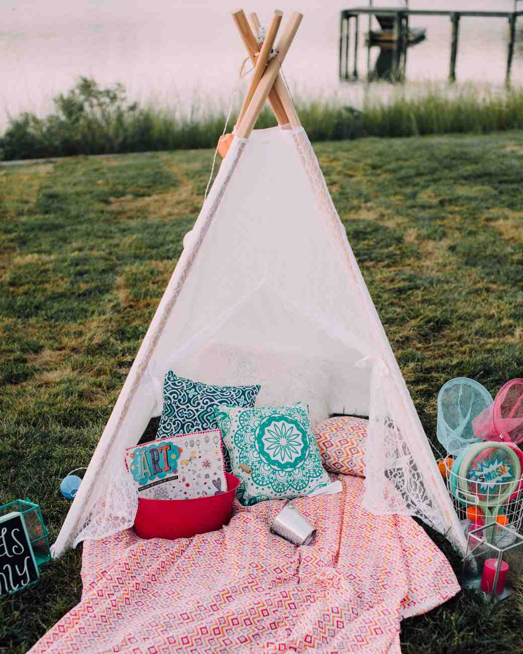 wedding kids tent