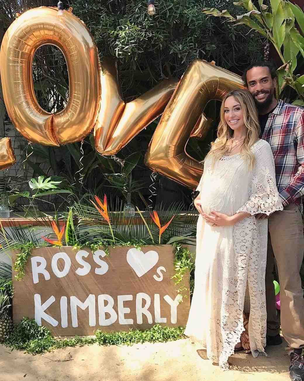 Kimberly Ryan and Ross Naess Bridal Shower