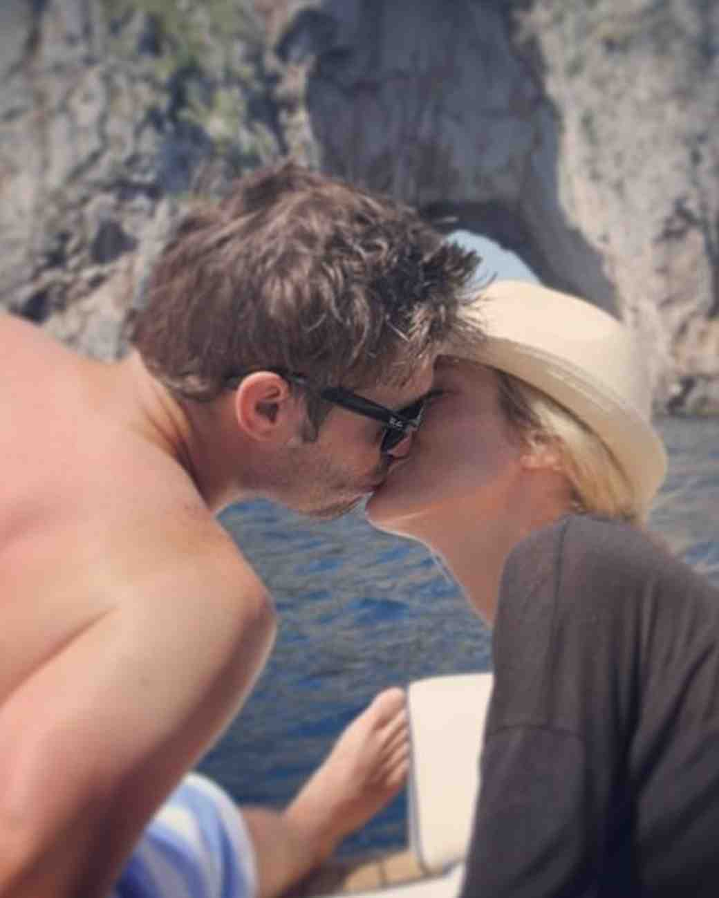 Kristin Cavallari and Jay Cutler on Honeymoon in Italy