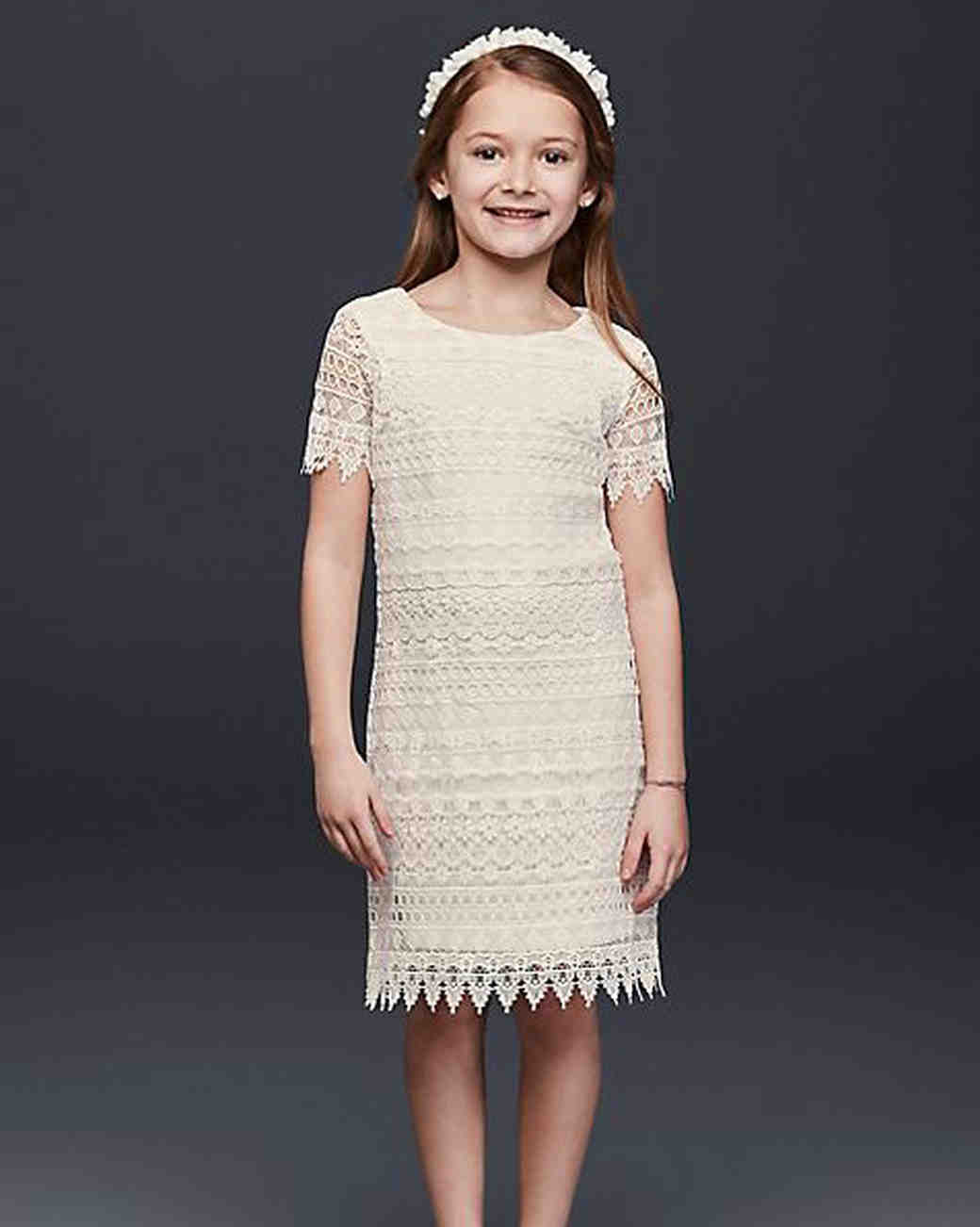 1aeb69a4074 The Sweetest Lace Flower Girl Dresses