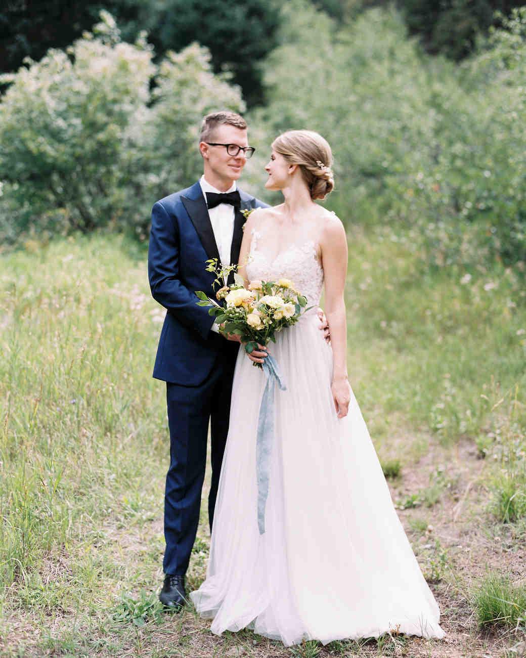 Avalanche ranch wedding dress