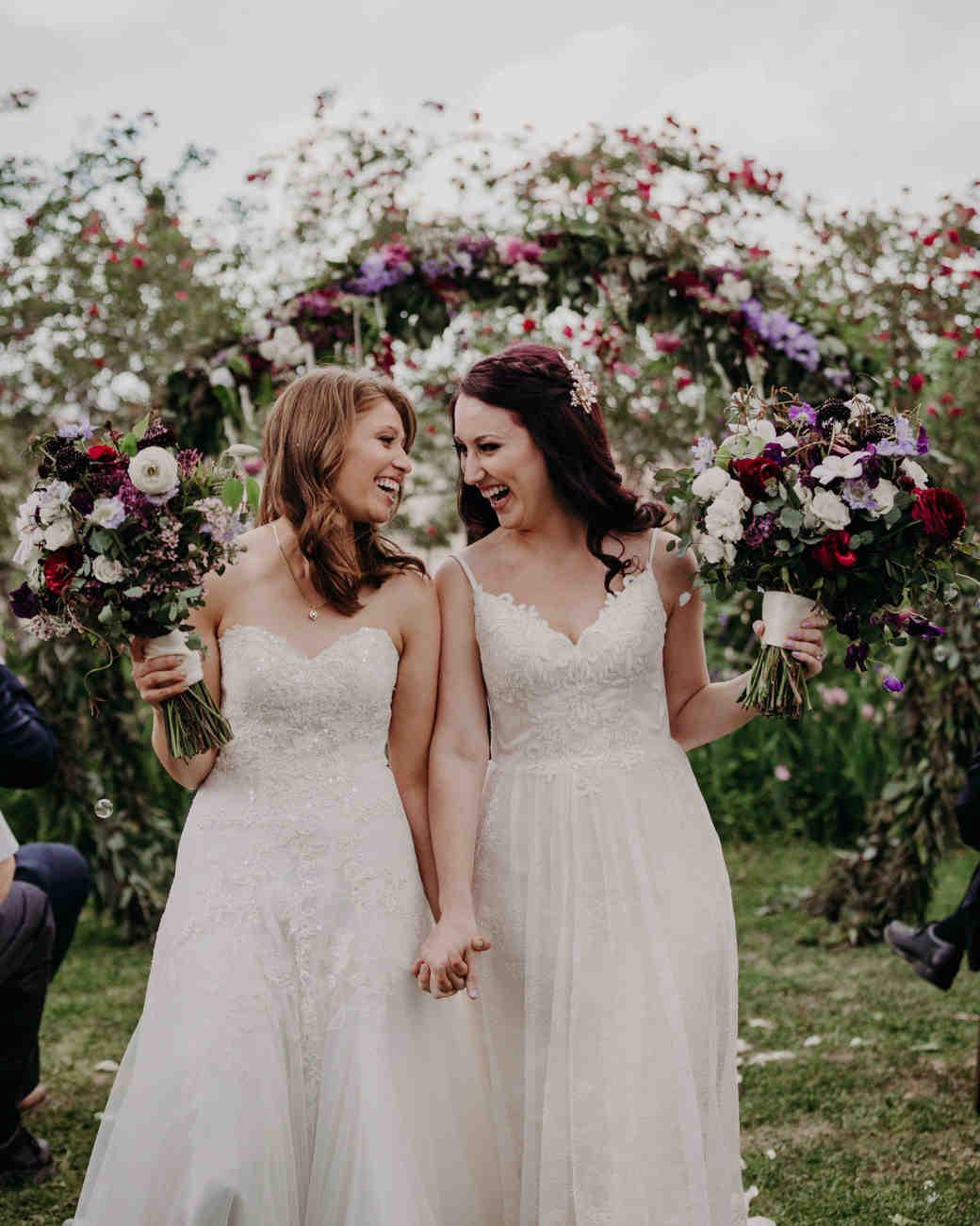 lgbtq bridal inspiration suzy goodrick