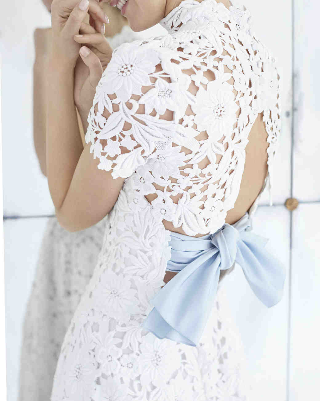 "Caroline Herrera ""Look 12,"" Wedding Dress"