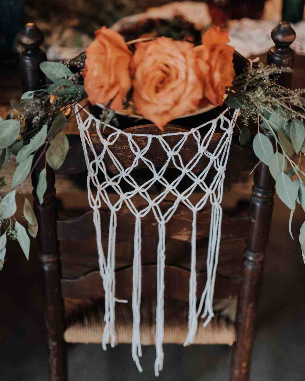 macrame wedding decor swak photography