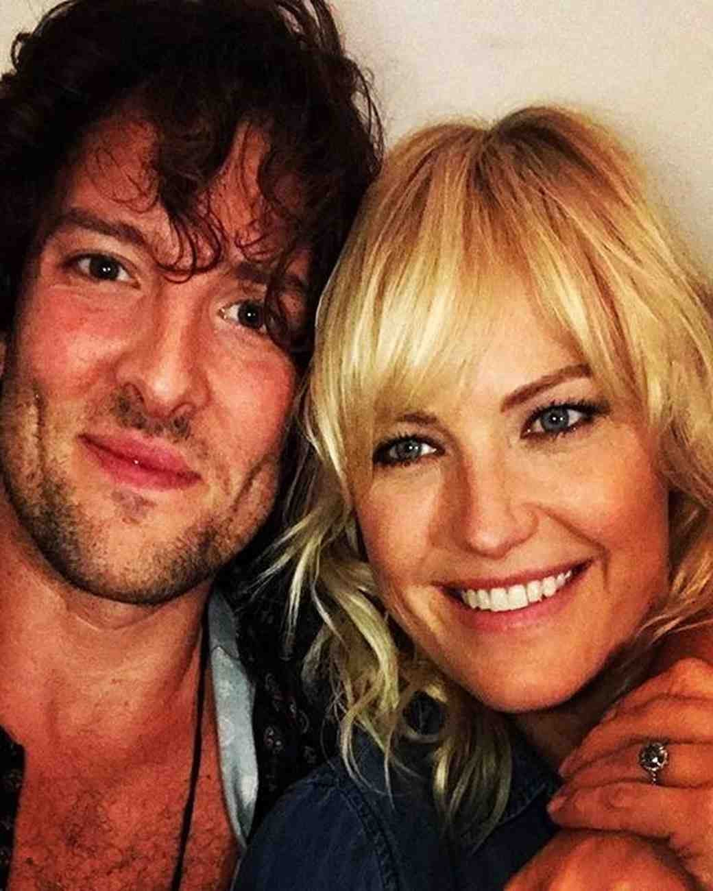 Malin Akerman and Jack Donnelly