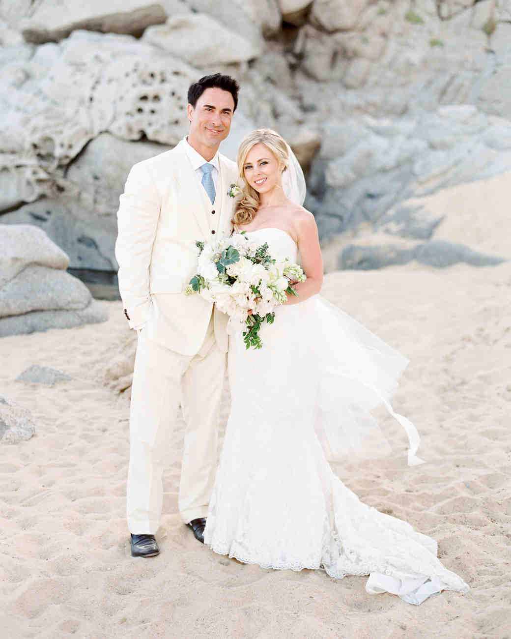 Wedding Dresses with Red Nautical Party