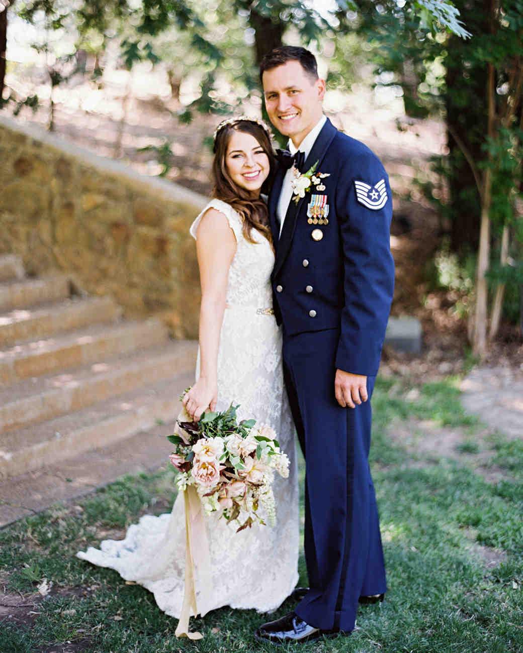 megan scott wedding bride and groom