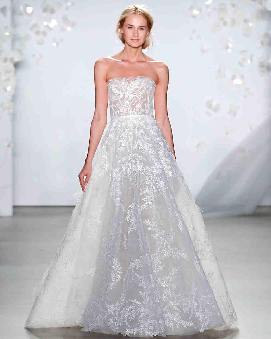602c52dd9903 Mira Zwillinger Spring 2020 Wedding Dress Collection | Martha Stewart  Weddings