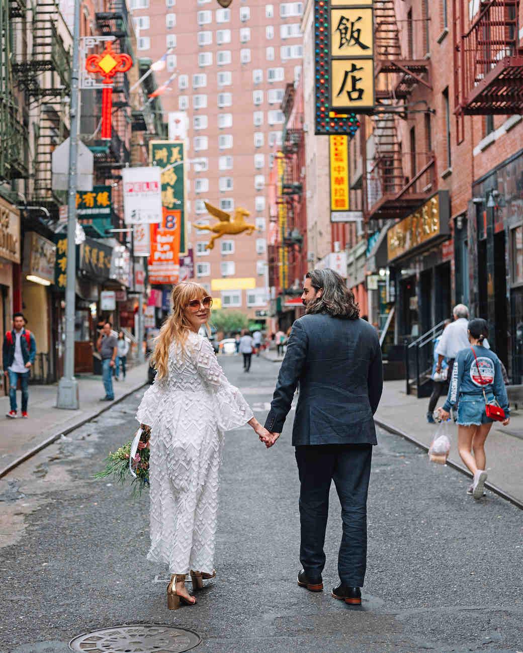 morgan jon paul wedding couple walking