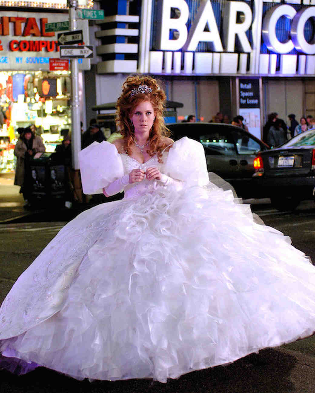 Enchanted Amy Adams wedding dress