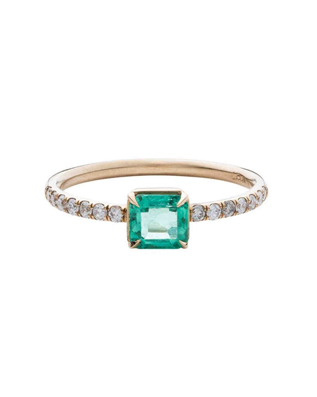 Nora Kogan Emerald Engagement Ring
